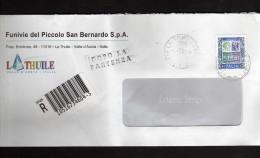 Italia-  St. Post. - 2001 - Raccomandata - . £ 5000  Isolato - Siracusana. E Cifra. - 6. 1946-.. Repubblica