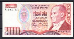 TURQUIA 1988  20000 LIRASI .NUEVO SIN CIRCULAR UNCIRCULATED.PICK Nº 201  .VER FOTO.B559 - Turquie
