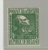 Irl Mi.Nr. 110/ IRLAND -  James Clarence Mangan ** MNH - Unused Stamps