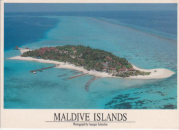 MALDIVES ISLANDS        PHOTOGRAPH  BY  JUERGEN SCHREIBER    MAXI FOTO    (NUOVA) - Maldive