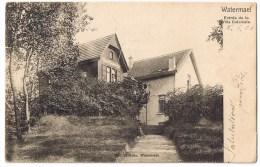 Watermael Boitsfort Watermaal Bosvoorde Villa Coloniale  Entree Edit Mettens 1904 - Watermael-Boitsfort - Watermaal-Bosvoorde