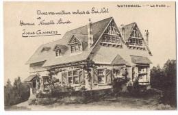Watermael Boitsfort Watermaal Bosvoorde La Hutte Avec Mes Meilleurs Souhaits Gai Noel Goossens - Watermael-Boitsfort - Watermaal-Bosvoorde