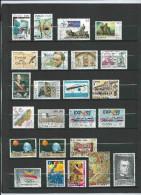 Lotpm 63 - Un Page D´ Album De Timbres D´ Espagne - Collections
