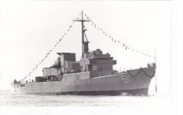 Batiment Militaire Marine Perou BAP Carjaval Coque 51  Fregate Classe Lupo En 1976 Signee Martinelli - Boats
