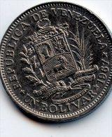 Venezuela 1 Bolivar 1967 - Venezuela