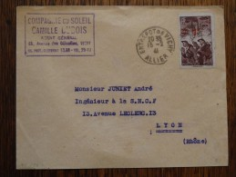 Oblitération Entrepot De VICHY Du 15/02/1941 - Marcofilie (Brieven)