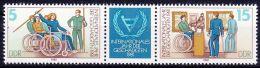 DDR 1981 / MiNr. 2621 - 2622  Dreierstreifen   ** / MNH   (s15) - [6] République Démocratique