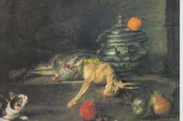 New York    Un Chat Guettant Une Perdrix Et Un Liervre  Chardin - Schilderijen