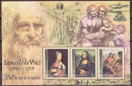 Moldavie Moldova 2002 Yvertn° Bloc 29 *** MNH Cote 6 Euro Da Vinci - Moldavie
