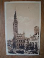 Danzig, Rathaus Und Artushof, Gelaufen 1914 ! - Danzig