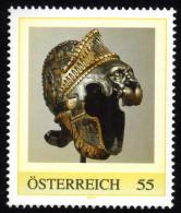 ÖSTERREICH 2008 ** Sturmhaube Mit Löwe Von Kaiser Karl V. - PM Personalized Stamp MNH - Geschichte