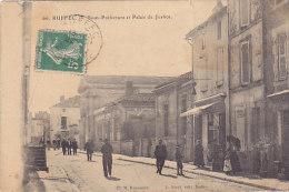 16 - Ruffec - Sous-Préfecture Et Palais De Justice (animée, Coiffeur, L. Picat) - Ruffec