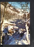 J1117 Cartolina D´ Auguri Di Buon  Natale E Felice Anno Nuovo Con Paesaggio Innevato - Snow, Neve, Neige - Ed. Garami - Noël