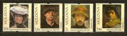Moldova Moldavie 2011 Yvertn° 648-51 ***  MNH Cote 12,50 Euro - Moldavie