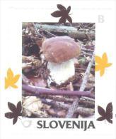 Slovenia Slovenie Slowenien 2014 Personalized Stamp: Autumn; Flora Mushroom - Eslovenia