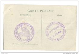 Cachet 68 ème Territorial Infanterie Camp Retranché Est Secteur 3 - Poststempel (Briefe)