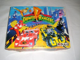 Polistil 1:43  /  POWER  RANGERS - Circuits Automobiles