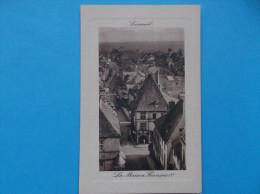 70 : LUXEUIL : La MAISON De FRANCOIS 1ier : C.P.A ....  Carte En Trés Bon état ,  Carte Gauffrée - Luxeuil Les Bains