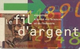 -CARTE-PASS-GEODE-1994-PL ASTIC-FIL D ARGENT-V°VGS SE 00/23-TBE - Tickets D'entrée