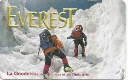 -CARTE-PASS-GEODE-1998-EVEREST-TBE - Tickets D'entrée