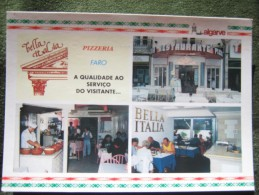 Portugal - Faro - Restaurante Pizzeria Bella Itália - Faro