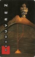 -CARTE-PASS-GEODE-1996-DECOUVREZ 2-VOLCAN-TBE - Tickets D'entrée