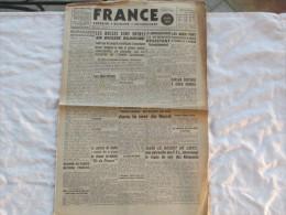 FRANCE QUOTIDIEN DU 14 FEVRIER 1942 JOURNAL DES FRANCAIS DE LONDRE - Français