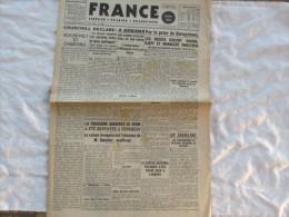 FRANCE QUOTIDIEN DU 25 FEVRIER 1942 JOURNAL DES FRANCAIS DE LONDRE - Français