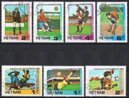 B013 SPORT VOETBAL FOOTBALL WORLD CUP MEXICO '86 VIETNAM 1985 Gebr / Used - Coupe Du Monde
