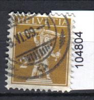 Zst. 123III , Mi. 111III O - Schweiz