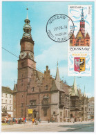 Poland 1982 Wroclaw - Cartes Maximum