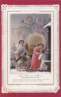 """IMAGE PIEUSE  """"La Communion De Noël - La Messe De L'Aurore"""" - Images Religieuses"""
