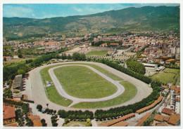 MONTECATINI TERME PISTOIA IPPODROMO SESANA E STADIO PANORAMA F/G VIAGGIATA 1989 - Italia