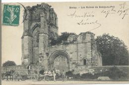 DONZY - Les Ruines De Donzy Le Pré - France