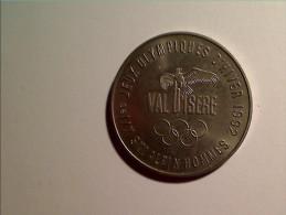 1 PIECE CLUB DES SPORTS VAL D'ISERE SKI ALPIN HOMMES ALBERTVILLE JO 1992 - Olympics