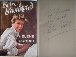 Cordet Helene - Born Bewildered - Roman Bio En Anglais Avec Envoi / Dedicace - Bücher, Zeitschriften, Comics