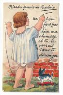 NORD  /  ROUBAIX  /  N' As-tu Jamais Vu.... ( Carte à Système : Fillette Avec Lapin Et Dix Minivues ) /  Edit.  DELBOY - Roubaix