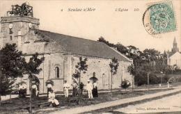 Dept 33,Gironde,Cpa Soulac Sur Mer,L´Eglise - Soulac-sur-Mer