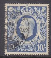 Great Britain, George VI, 1946, 10/= Ultramarine, Used - 1902-1951 (Kings)