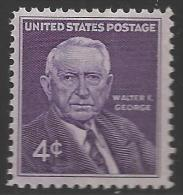 1960 4 Cents George, Mint Never Hinged - Verenigde Staten