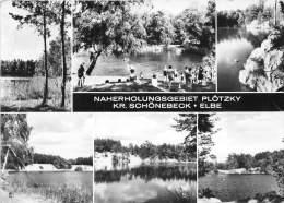 BG2204 Naherholungsgebiet Plotzky Kr Schonebeck Elbe   CPSM 14x9.5cm Germany - Schoenebeck (Elbe)