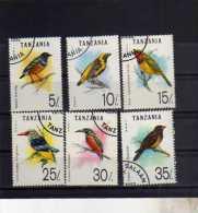 TANZANIA 1992 FAUNA BIRDS UCCELLI OISEAUX USED USATI OBLITERE' - Tanzania (1964-...)