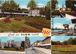 BG401 Hamm Westf Car Volkswagen Beetle  CPSM 14x9.5cm Germany - Hamm