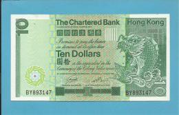 HONG KONG - 10 DOLLARS -  01.01.1981 - P 77 - 2 Scans - Hong Kong