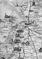 BG607 Biderkarte Bremerhaven Map Carte Geographique CPSM 14x9.5cm Germany - Bremerhaven