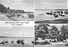 BG956 Neuendorf Am See Kr Lubben Boat   CPSM 14x9.5cm Germany - Hohen Neuendorf