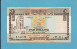 HONG KONG - 5 DOLLARS -  ND ( 01.06.1975 ) - P 73.b - 2 Scans - Hong Kong
