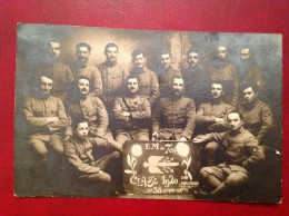 73 Savoie ALBERTVILLE EM Du 7e Bataillon De Chasseurs Alpins Classe 1920 Carte Photo - Albertville
