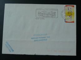 06 Alpes Maritimes Cap D'Ail 1999 - Flamme Sur Lettre Postmark On Cover - Marcophilie (Lettres)