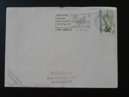 11 Aude Caunes Minervois - Flamme Sur Lettre Postmark On Cover - Marcophilie (Lettres)